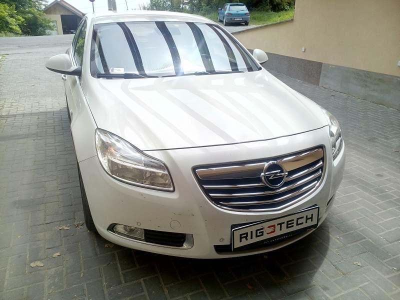 Opel Insignia chiptuning 2.0D 110LE és 160LE